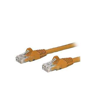 Startech Orange Snagless Cat6 Patch Cable