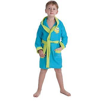 Interbaby Albornoz Infantil Turquoise T 14-16 (Textile , Child's , Swimwear)