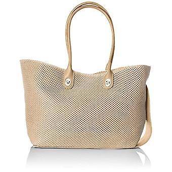 Caco S.r.l. One Women's Beige Shoulder Bag 45x48x10 cm (W x H x L)