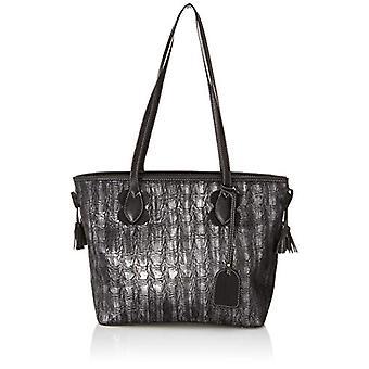 Laura Vita 3080 - Black Women's Tote Bags (Schwarz (Noir)) 16x29x42 cm (B x H T)