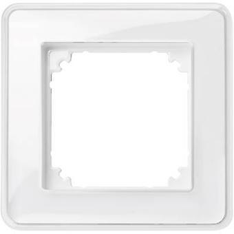 Merten 1x Frame M-Creativ Transparent, Polar white MEG4010-3500