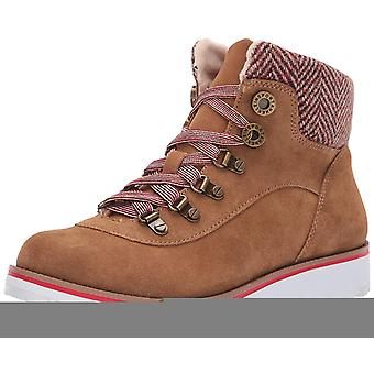 Anne Klein Womens Willpower Fabric Closed Toe Ankle Fashion Boots