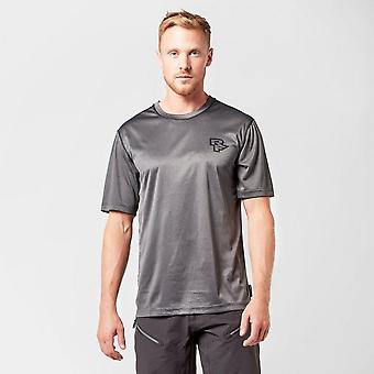 New Raceface Men's Trigger Ventura Tech Short Sleeve Top Grey