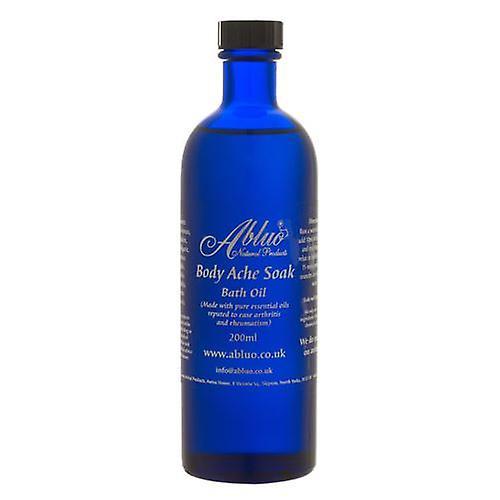 Body Ache Bath Oil from Abluo 200ml