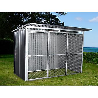 Dog run and kennel 2.6x1.6x1.8 m ProShed®, Anthracite