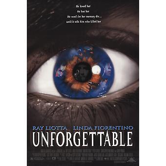 Unvergessliche (Doppelseitige) Original Kino Poster