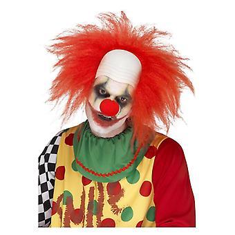 Hombres payaso peluca carnaval Disfraces accesorios