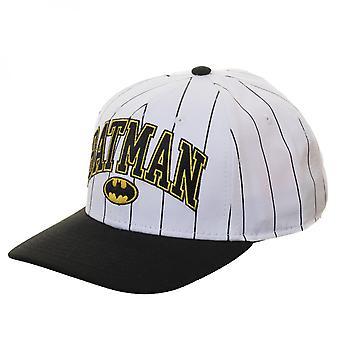 Batman Pinstripe pre buede justerbar SnapBack hat