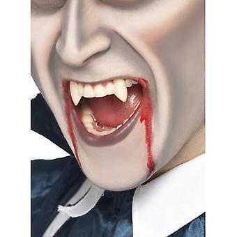 吸血鬼の歯の牙吸血鬼の歯ボックスとハロウィーン