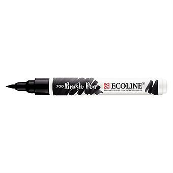 Talens Ecoline Liquid Watercolour Brush Pen - 700 Black