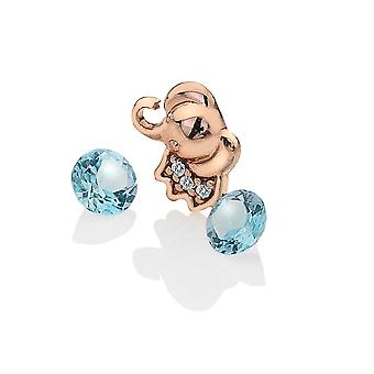 Anais Hot Diamonds Anais Rose Gold Plated Sterling Silver Elephant Charm AC006
