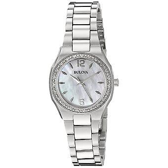 Bulova 96R199 السيدات الماس معرض ساعة اليد