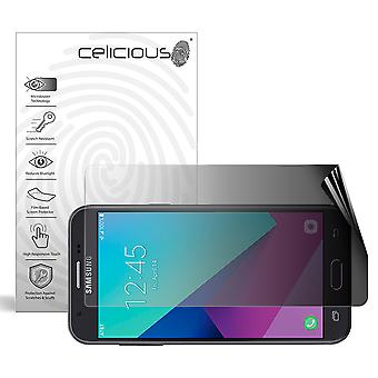 Celicious Privacy 2-Way Landscape Anti-Spy Filter Screen Protector Film Compatible with Samsung Galaxy Express Prime 2
