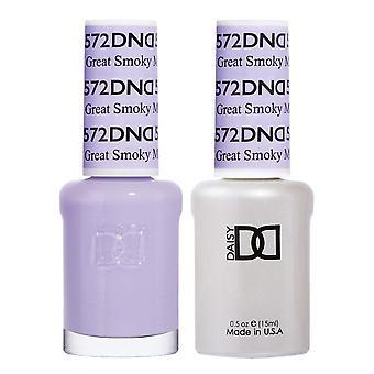 Dnd Duo Gel & Nail Polish Set - Great Smoky Mountain TN 572 - 2x15ml