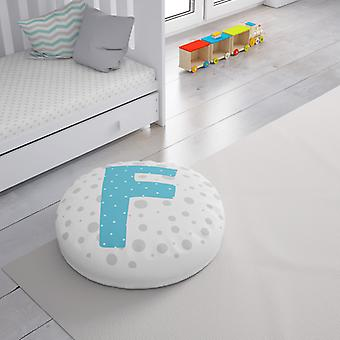 Meesoz Floor Cushion - Letter Boy - F