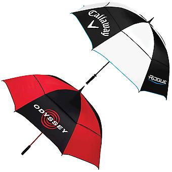 Odyssey/Callaway Unisex 68 Inch Double Canopy Waterproof Golf Umbrella