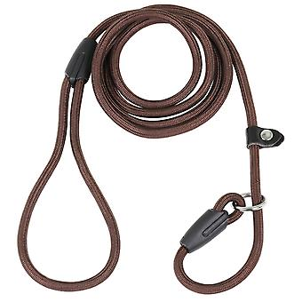DOG SLIP LEASH BROWN