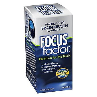 Focusfactor nutrition for the brain, tablets, 60 ea