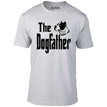 Men's the dogfather t-shirt.
