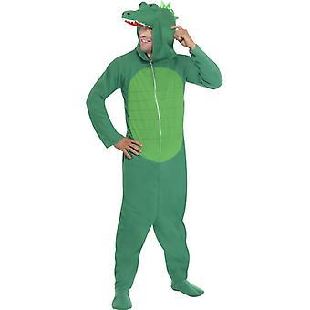 """Crocodile Costume, Chest 38""""-40"""", Leg Inseam 32.75"""""""