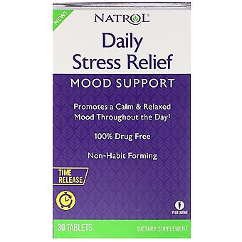Natrol Daily Stress Relief 30 Tablets