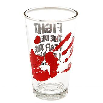 The Walking Dead Fear The Dead Large Glass
