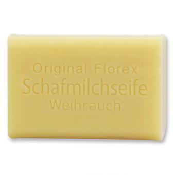 Sabão de leite de ovelha Florex - incenso - equilibra corpo e amp;amp; Espírito de estresse 100 g
