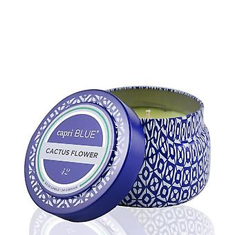 Capri Blue Printed Travel Tin Candle - Cactus Flower 241g/8.5oz