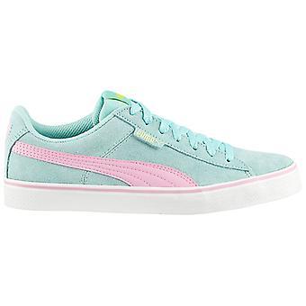 Puma 1948 Vulc 359835-10 Damen Schuhe Blau Sneaker Sportschuhe