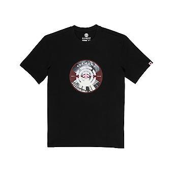 Element Aiken Kurzarm T-Shirt in Flint Schwarz