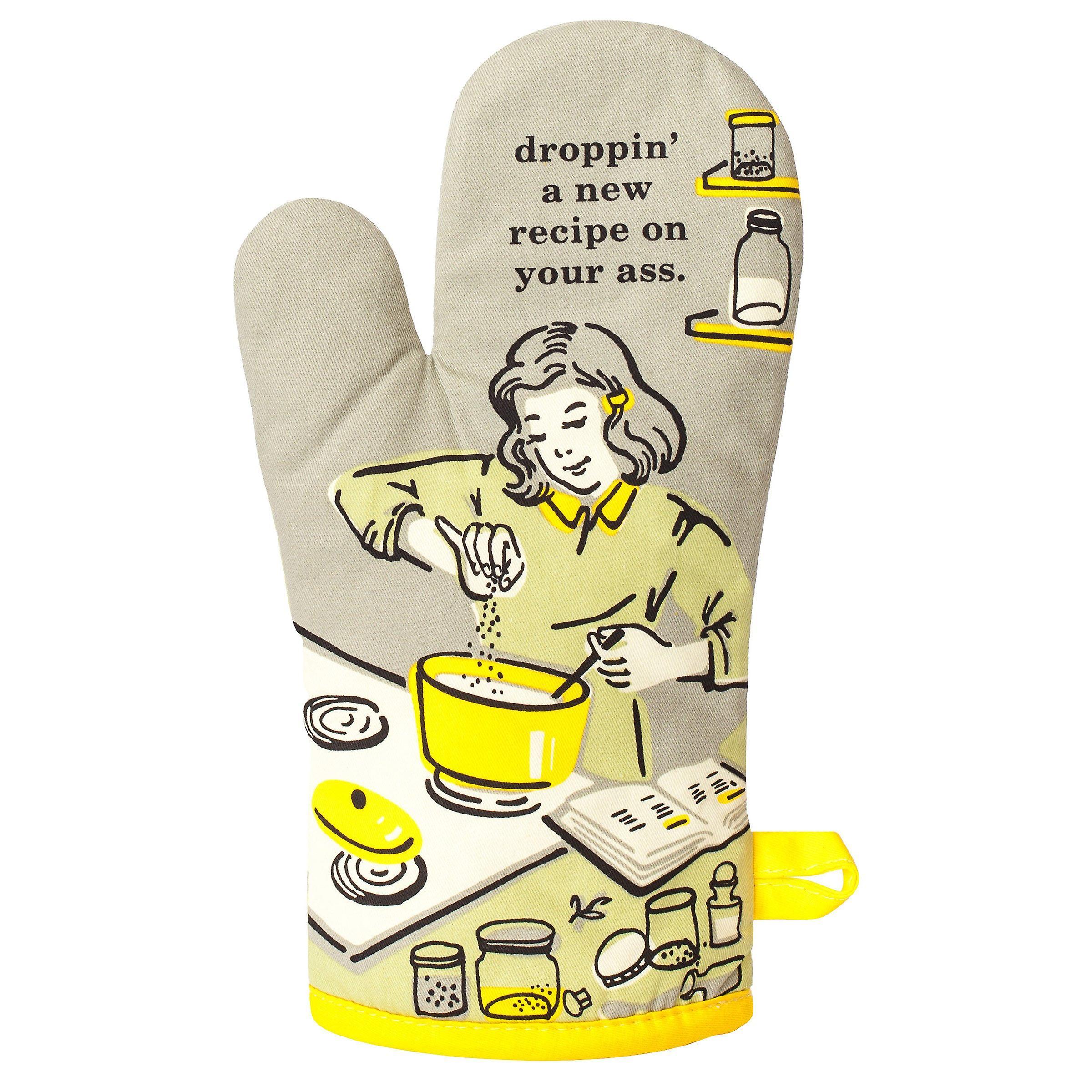 Blue q - droppin' a recipe on your ass over mitt