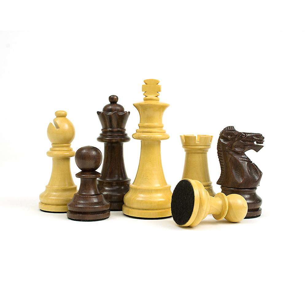 The Modica Rosewood Chessmen 3 Inches