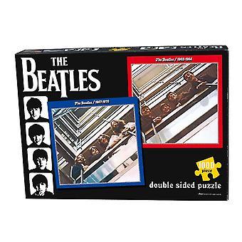 Die Beatles Puzzle rot und blau Doppel Album Cover offizielle 1000 Stück