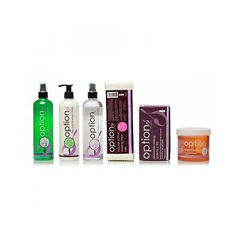 Ruche de beauté Cire warm Honey Wax Depilatory Hair Removal Accessory Pack