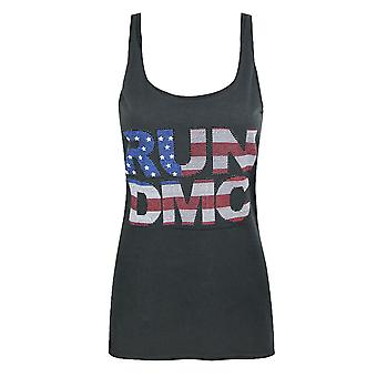 Amplified Run DMC USA Diamante Women's Vest