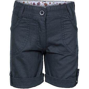 Trespass Girls Ronya Cotton Turn Up Shorts