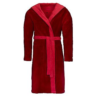 Vossen 162465-026 Unisex Poppy Rubin Lipstick Red Dressing Gown Robe
