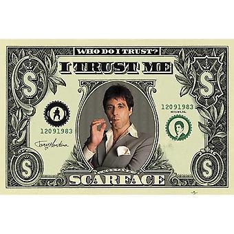 Scarface, Maxi Poster - Dollar