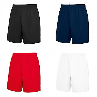 Fruit Of The Loom Mens Moisture Wicking Sports Performance Shorts