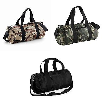 Bagbase Camouflage Barrel / Duffle Bag (20 Litres) (Pack of 2)