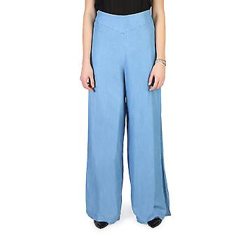 Armani Jeans Original Women Spring/Summer Trouser Blue Color - 57910