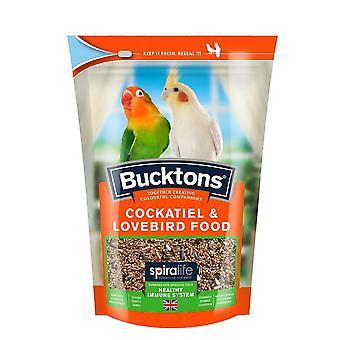 Bucktons Cockatiel & Lovebird Food Pouch