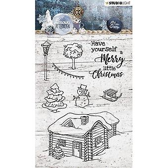 Studio Light A6 Clear Stamp Snowy Afternoon Number 399