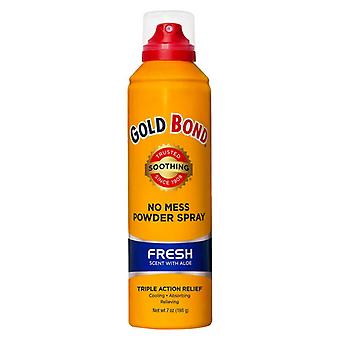 Gold bond triple action relief powder spray, fresh scent, 7 oz