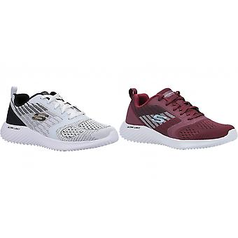 Skechers Mens Bounder Verkona Lace Up Trainers