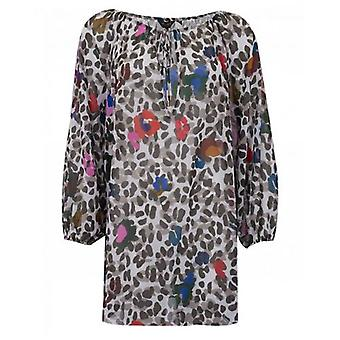 Ted Baker Bademode Lunora Leopard Print Cover Up
