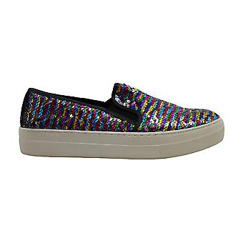 Steve Madden Womens Gills-S Fabric Low Top Slip On Fashion Sneakers