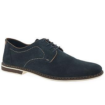 ريكر السماح الرجال جلد الدانتيل حتى الأحذية
