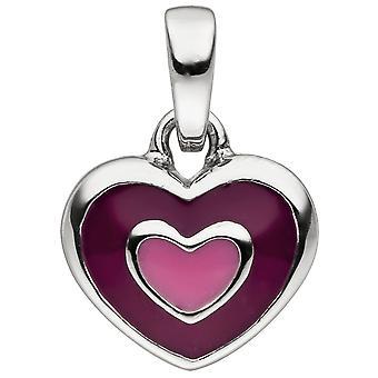 Bambini Pendant Heart 925 Sterling Silver Heart Pendant Bambini Ciondolo
