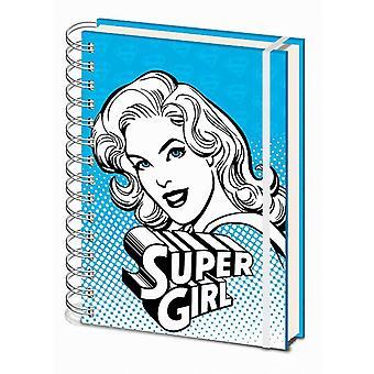 Dc Comics (Supergirl Blue) A5 Carnet